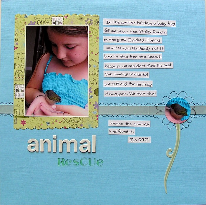 Anna Animal Rescue aged 9