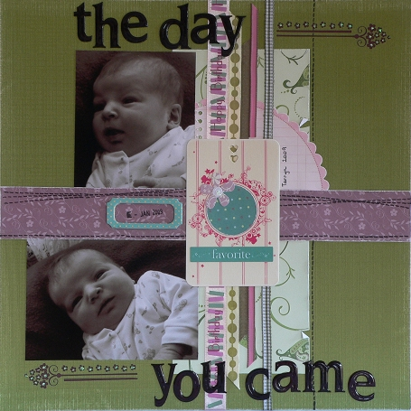 The day you came