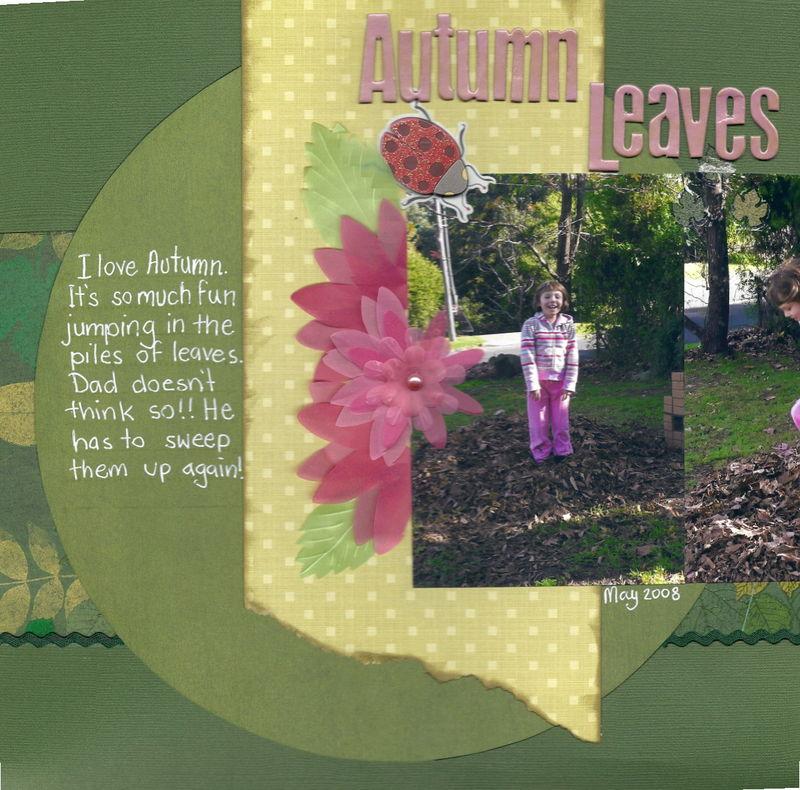 Autumn leaves part1