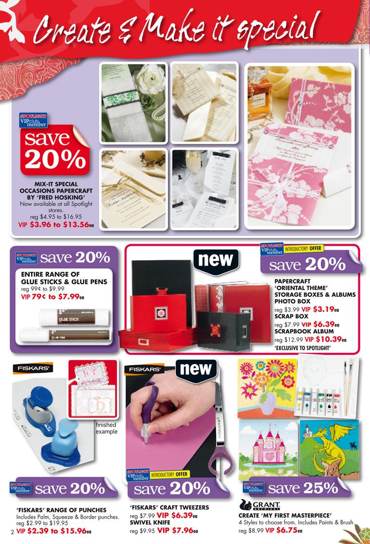 Spotlight Catalogue - Feb 2009