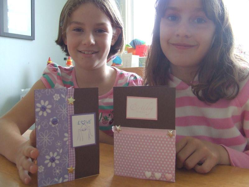 Isobel and Rachel