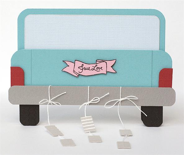 Wedding Car Card Fiskars Craft