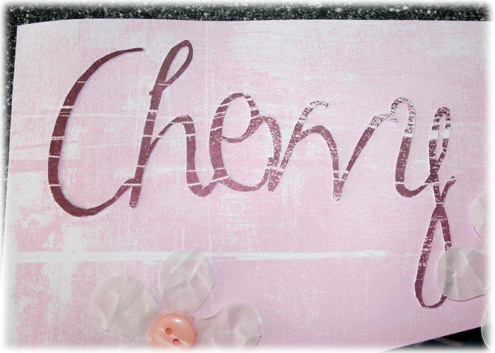 Chevvy - my best friend title
