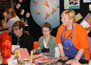 C&Q Fair 2009 - Rosemary & crafters