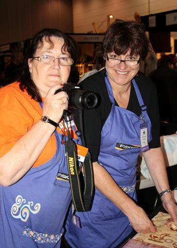 C&Q Fair 2009 - Lyn and Adrienne