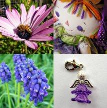 Robyn w purple