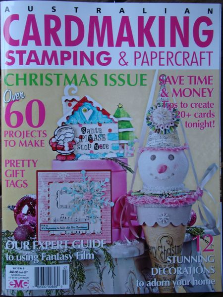 Stamping and papercraft cover