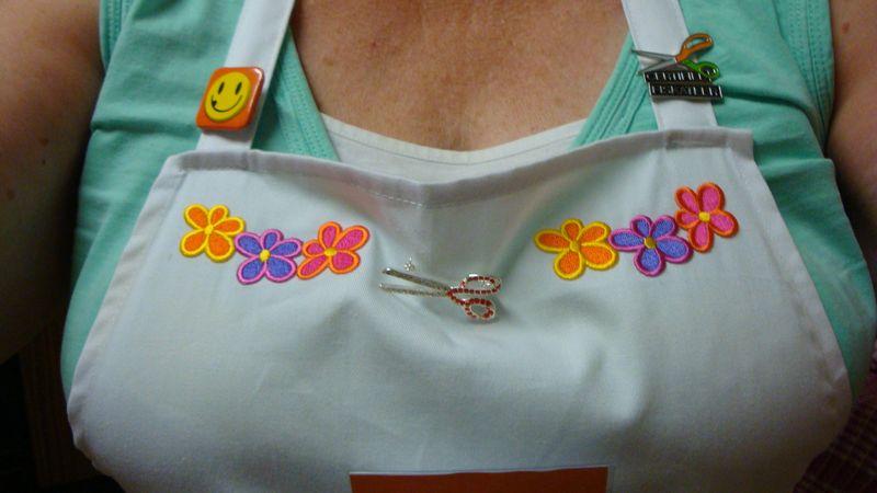 New apron top
