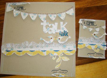 BIRDY LIFE CARD AND LAYOUT