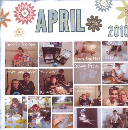 Calendar April 2010 a