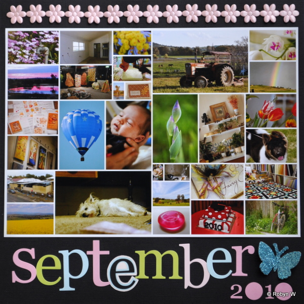 Robyn's Calendar Layout