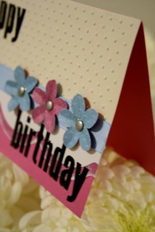 Happy birthday banner card 2