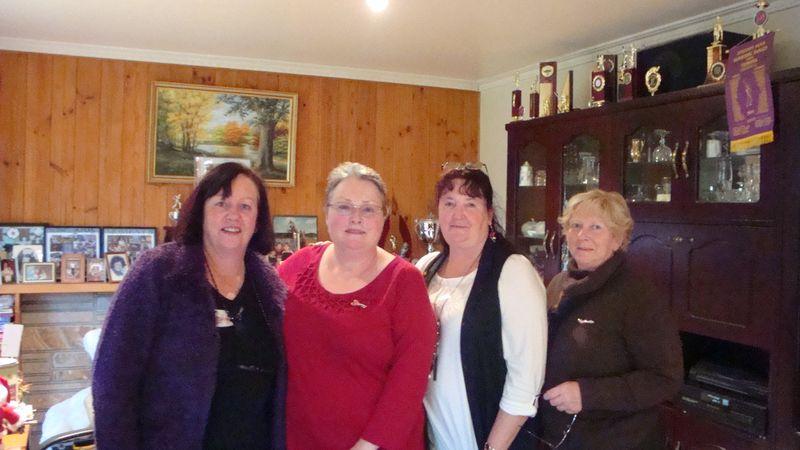 Carolyn,Tracy,Lyn,Rosemary