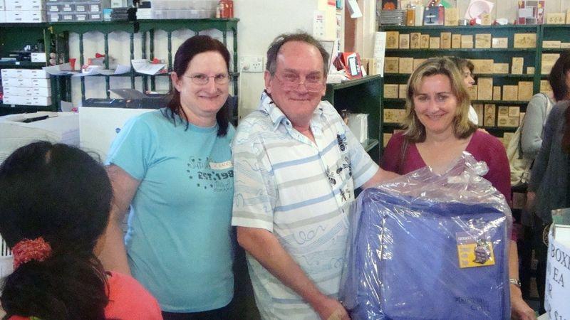 Major door prize winner,Kerr and Maurie