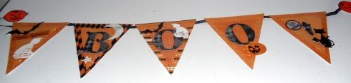 Boo Banner by Joanne Fiskateer #3830
