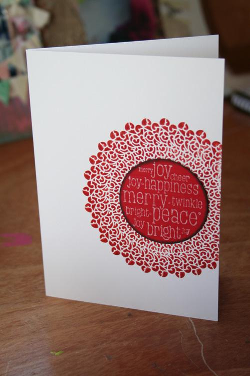 2010 Xmas cards