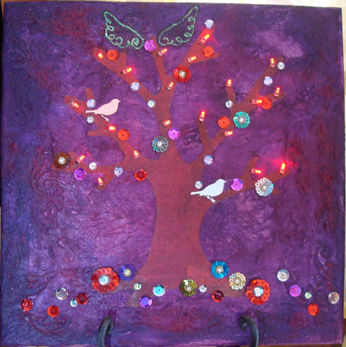 Light Tree Canvas #1