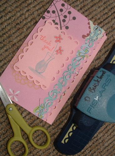 Pinkflowercard
