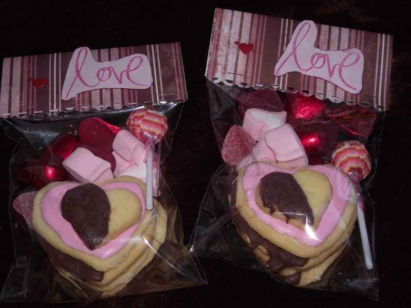 a sweet for your sweet this valentines day - Valentine Goodie Bag Ideas