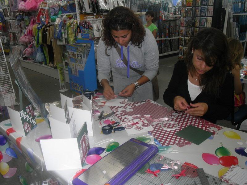 Ladies crafting