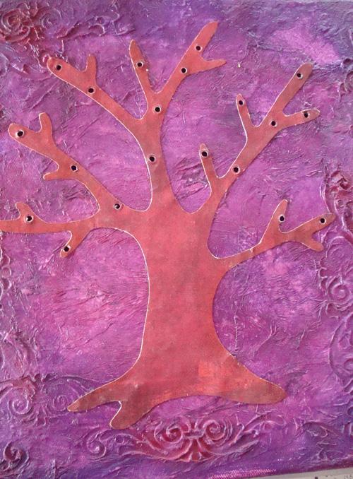 Light Tree Canvas Step 1