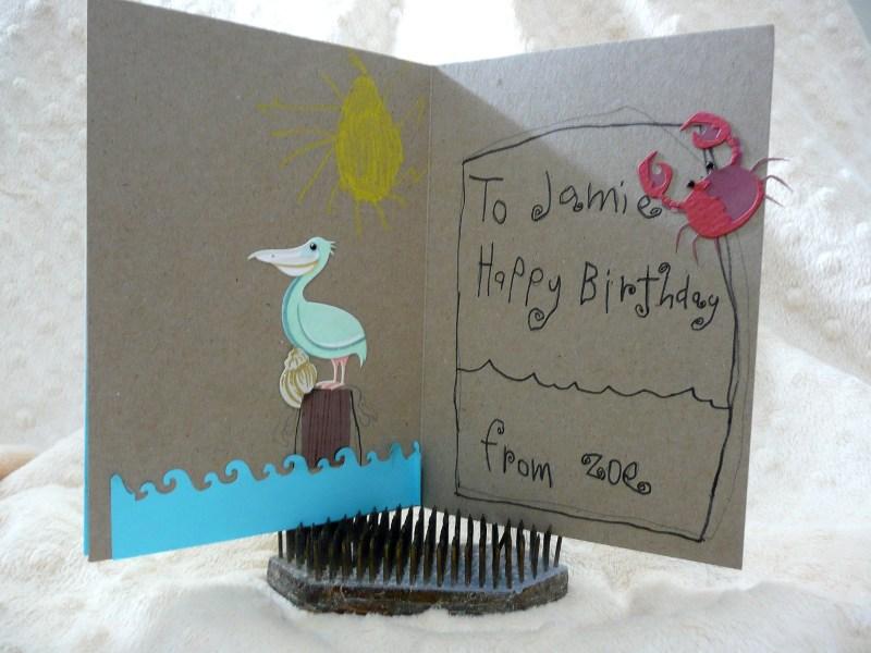 Inside Zoe's Card