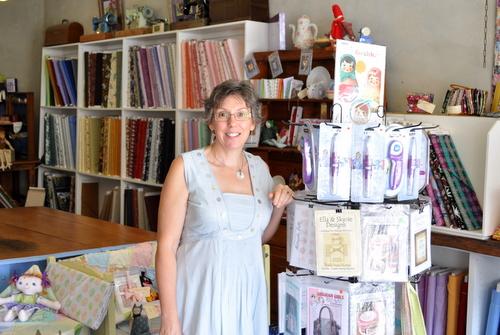 Debbie in shop