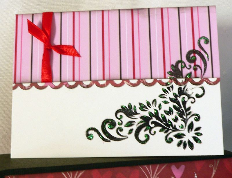 Stationery box card