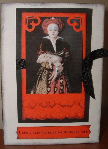 Queenofhearts card