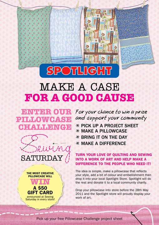 Spotlight Sewing Saturday