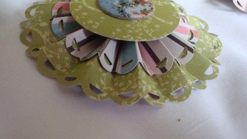 Up close rosette