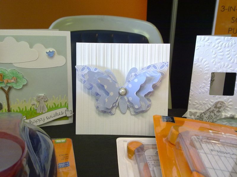 Pips butterfly Card