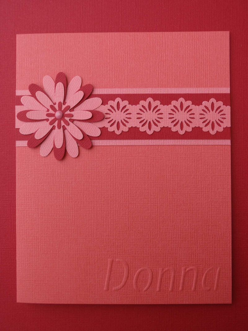 Pink Paper Lace