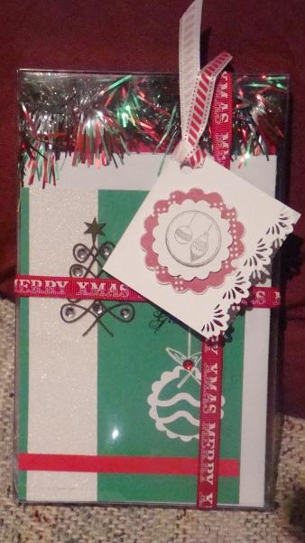 Handmade Gift Boxed Xmas Cards
