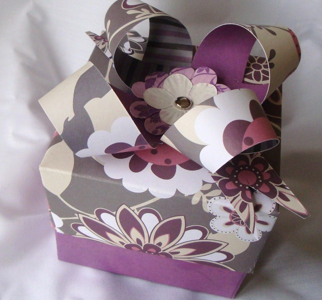 Gift Box with paper bow