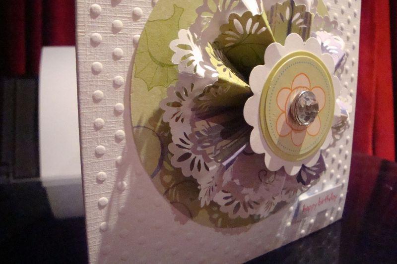 Close up Sally's card