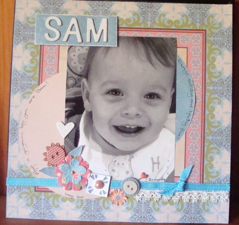 SAM Layout