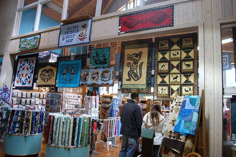 Ketchikan Quilt Shop 1