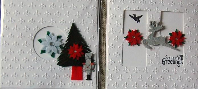 Window xmas cards