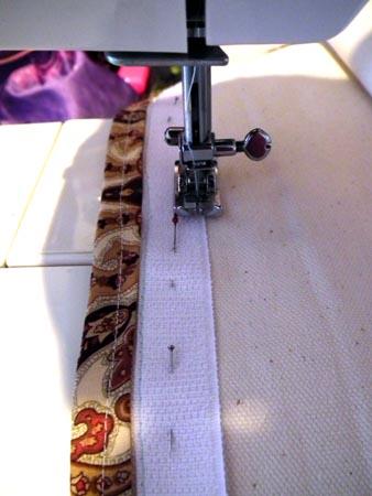 SewingOnVelcro
