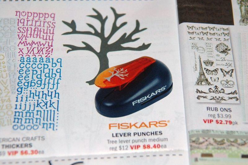 Fiskars Tree Lever Punch