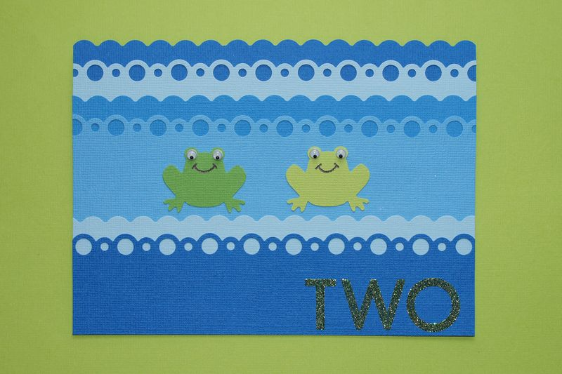Two frogs cropped