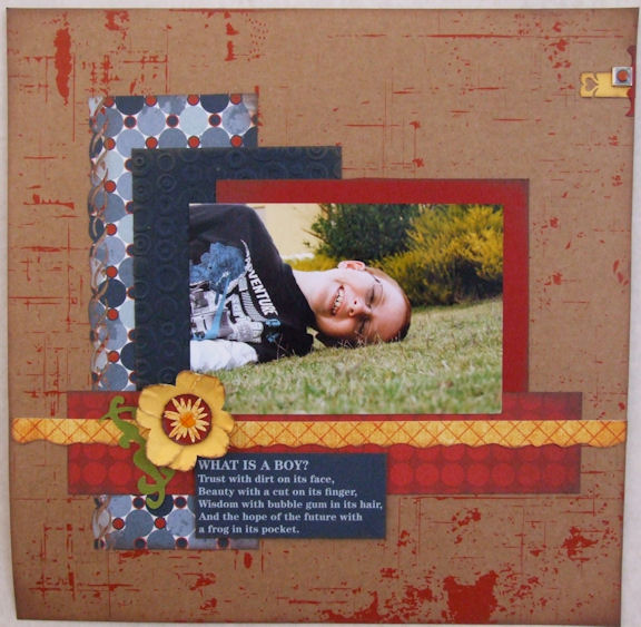 Layout by Melissa D