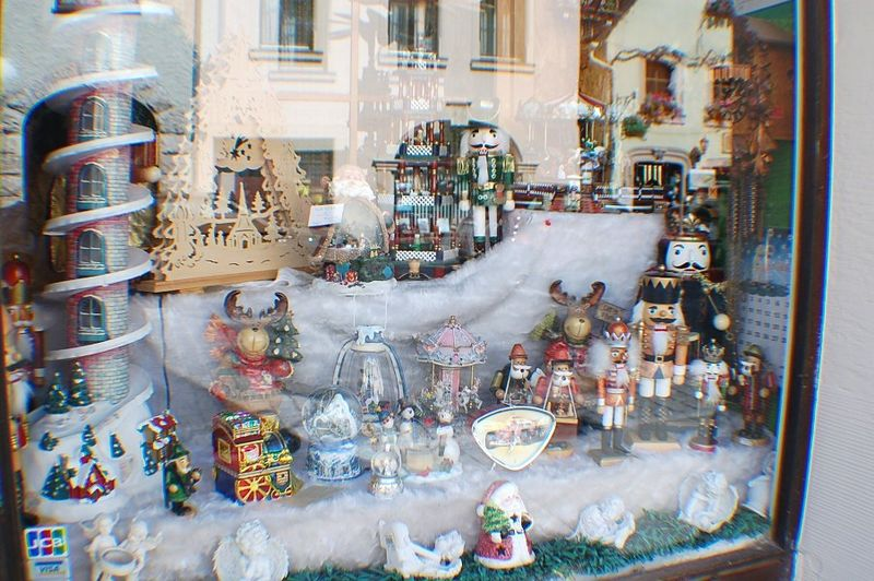 Xmas Shop window Rothenburg