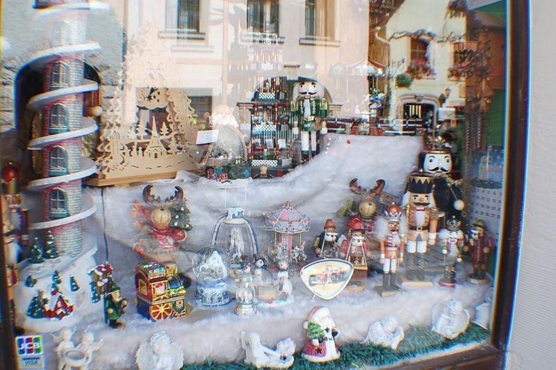Xmas Shop window Rothenburg