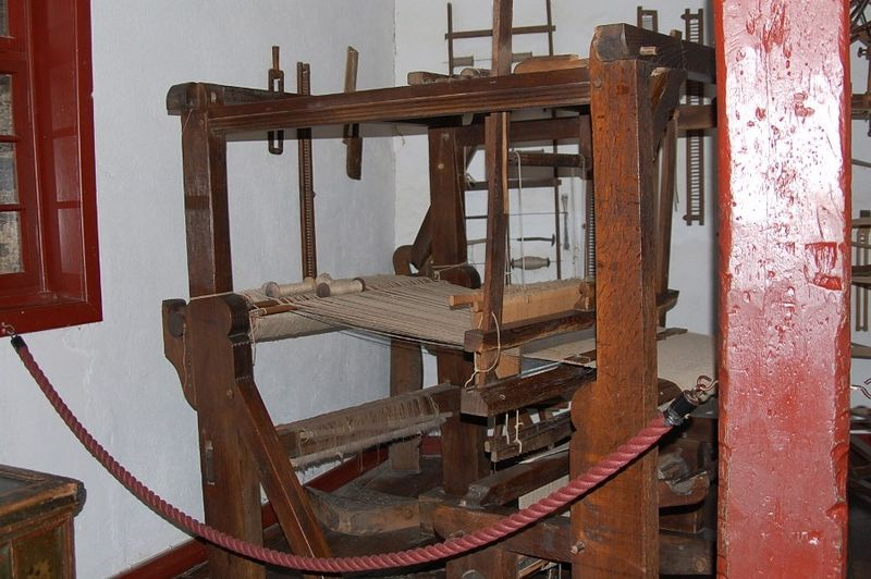 Loom at Marksburg Castle Germany