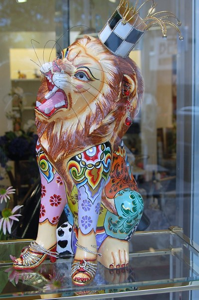 Numemburg shop window lion