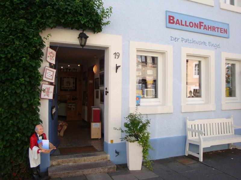 Patchwork shop in Miltenberg