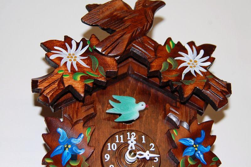 Top of clock