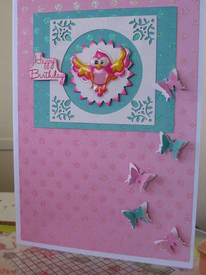 THINK PINK birthday card GIVEAWAYS Fiskars Craft – Birthday Cards Craft